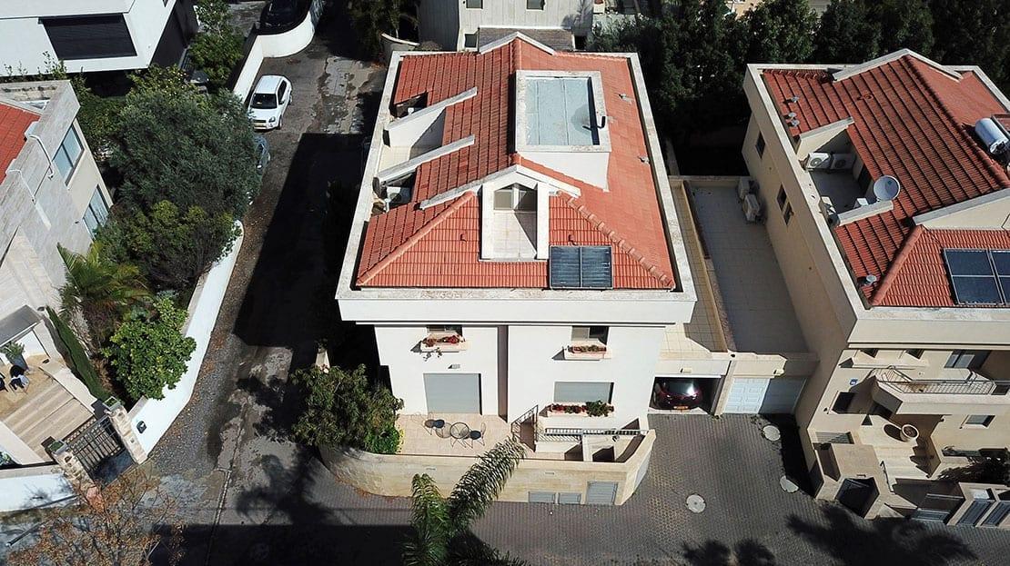 צילום בית מלמעלה